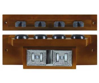 compteur porte queues 4 la boutique du billard. Black Bedroom Furniture Sets. Home Design Ideas