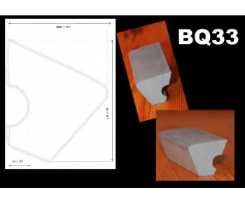 bande caoutchouc bq 33 la boutique du billard. Black Bedroom Furniture Sets. Home Design Ideas