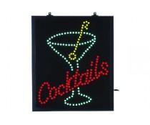 Panneau lumineux Cocktails