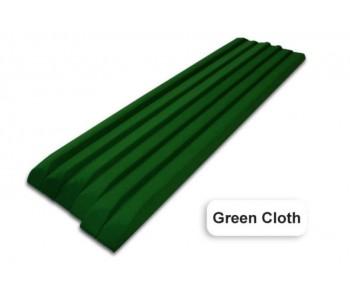 Kit bandes DPT en L drapées vert