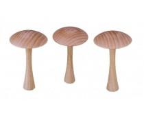 Champignon en bois pour billard russe