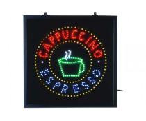 Plaque lumineuse Cappuccino