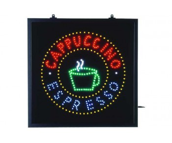 Panneau lumineux Cappuccino