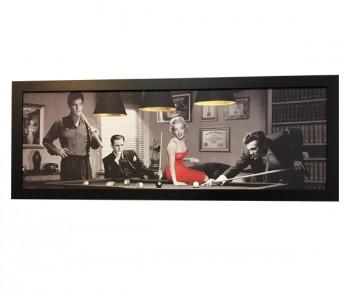 Cadre Dean Monroe Presley et Bogart