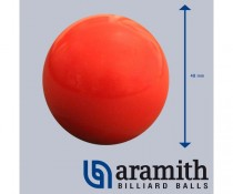 Bille Rouge Aramith 48 mm
