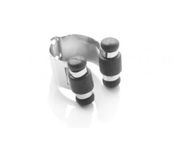 Clips aluminium de serrage pour porte queue