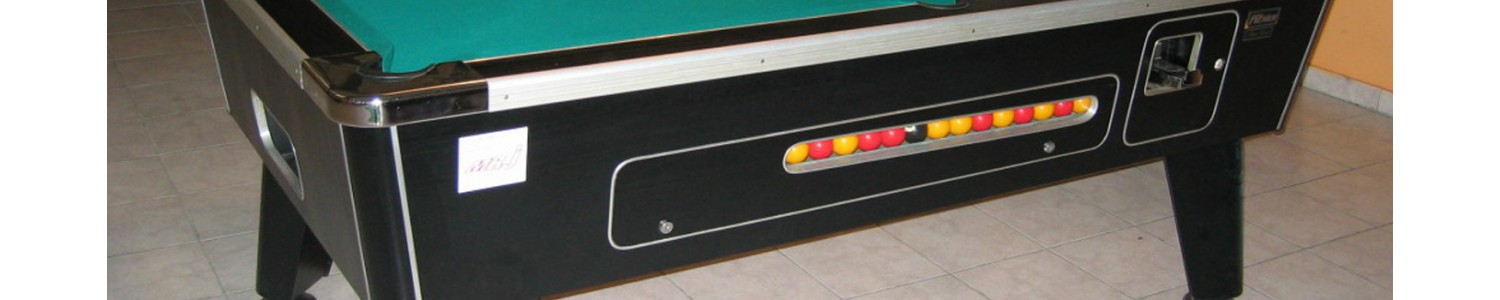 Billards monnayeurs