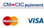 cm-cic, visa et mastercard